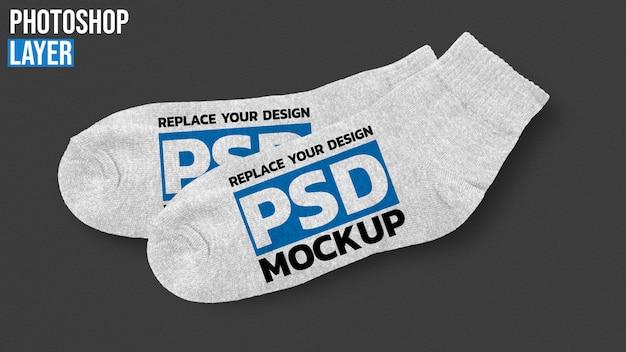 Maquette de chaussettes
