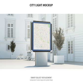 Maquette de city light
