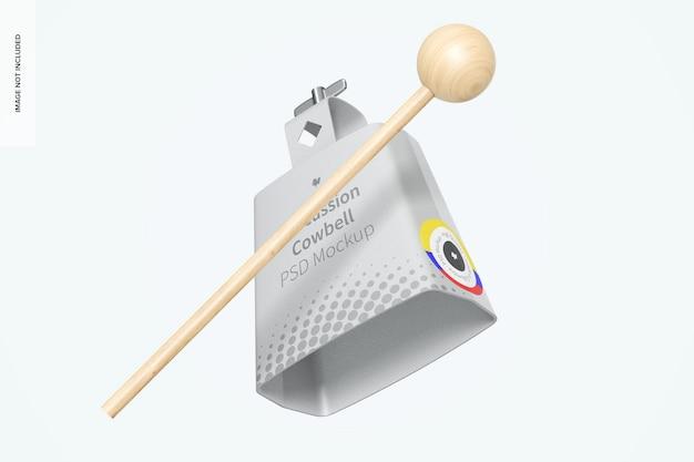 Maquette de cloche à percussion, flottante