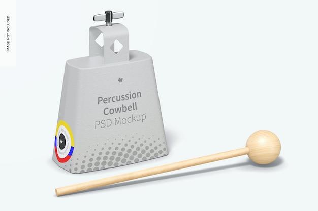 Maquette de cloche à percussion