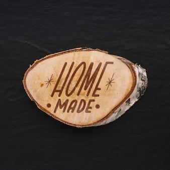 Maquette de coffre faite maison