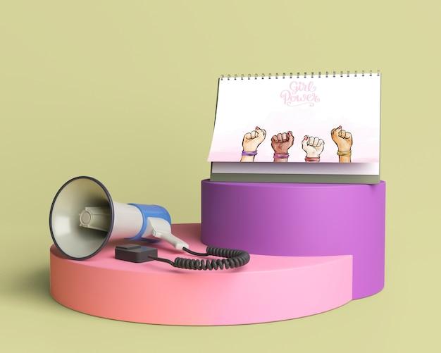 Maquette de collecte de pouvoir pour les filles