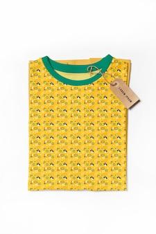 Maquette de concept de belle chemise colorée