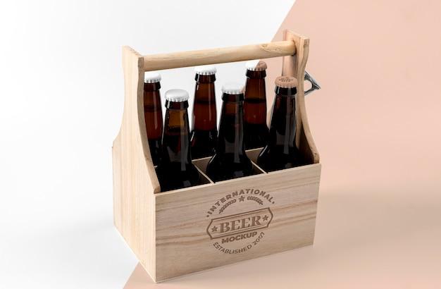 Maquette de concept de bière artisanale