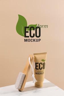 Maquette de concept écologique