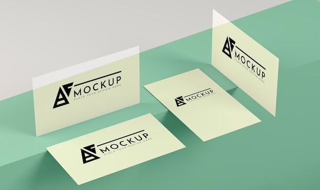Maquette de concept pop papier