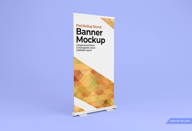 Maquette de conception de bannière debout rollup