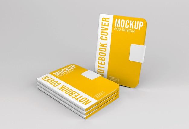 Maquette de conception de cahier pour la présentation de l'entreprise