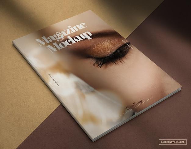 Maquette de conception de couverture de magazine