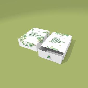 Maquette de conception d'emballage