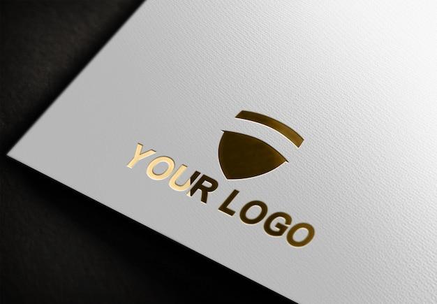 Maquette de conception de logo