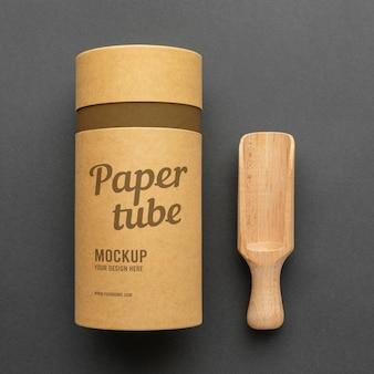 Maquette de conception réaliste de cylindre artisanal
