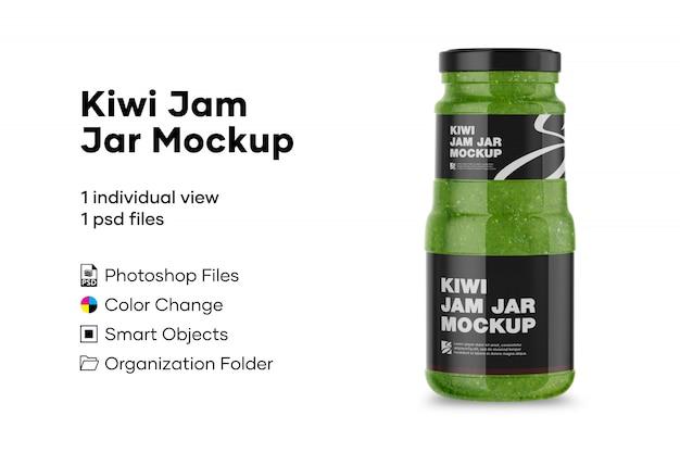 Maquette de confiture de kiwi