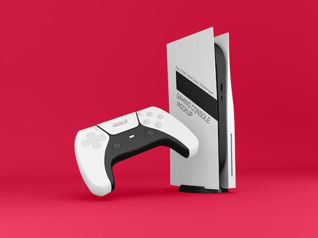 Maquette de console de jeu