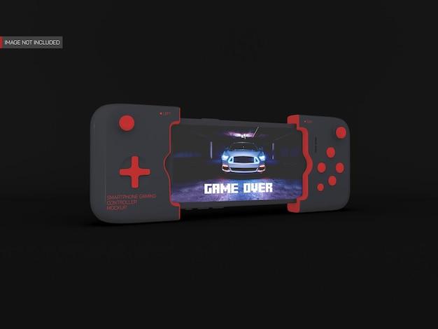 Maquette de contrôleur de jeu pour smartphone