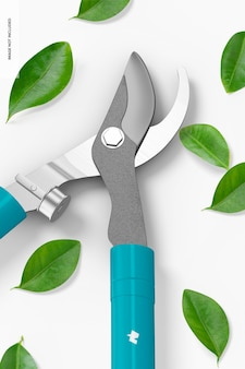 Maquette de coupe-arbre, gros plan