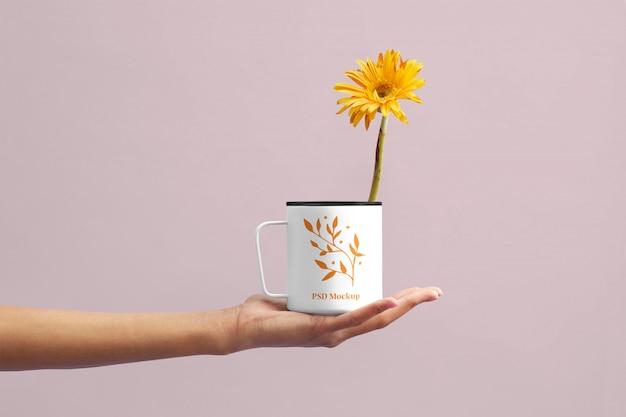 Maquette de coupe de fleurs