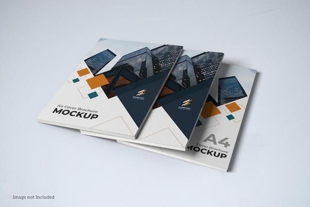 Maquette de couverture de brochure