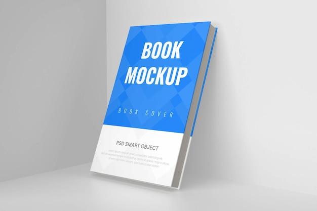 Maquette de couverture de livre 3d dure et réaliste