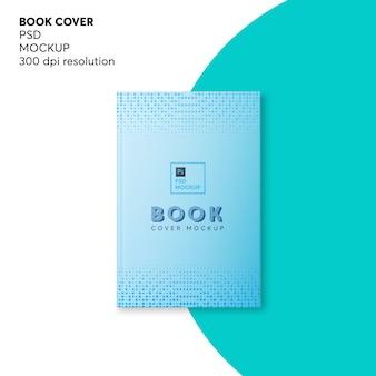 Maquette de couverture de livre à couverture rigide