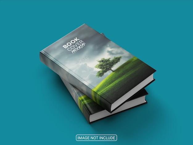 Maquette de couverture de livre incroyable réaliste