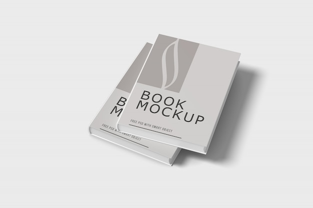 Maquette de couverture de livre psd gratuit