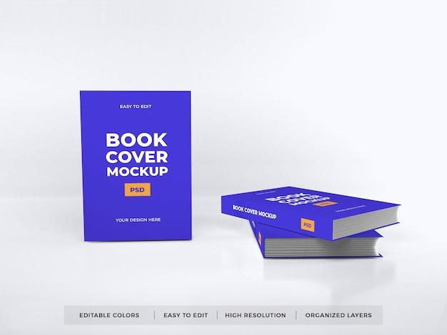 Maquette de couverture de livre réaliste