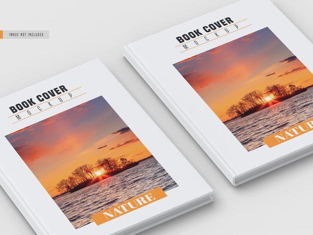 Maquette de couverture de livre rigide