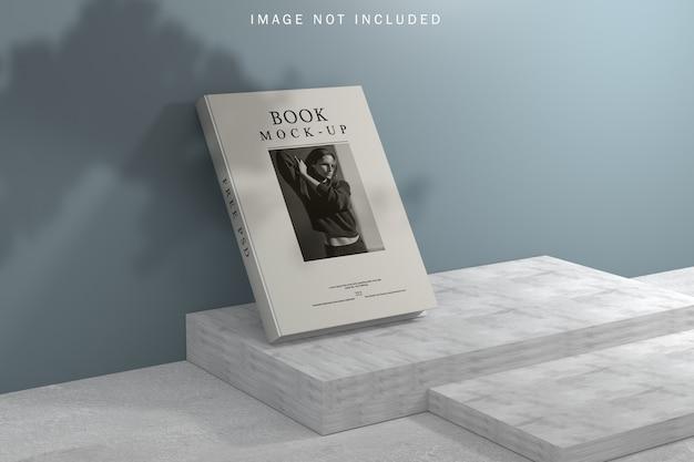 Maquette de couverture de livre avec superposition d'ombres