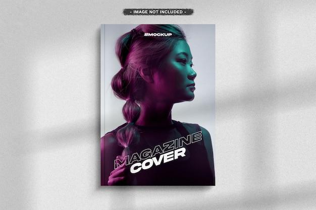 Maquette de couverture de magazine