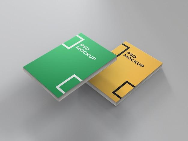Maquette à couverture souple minimal 2 book