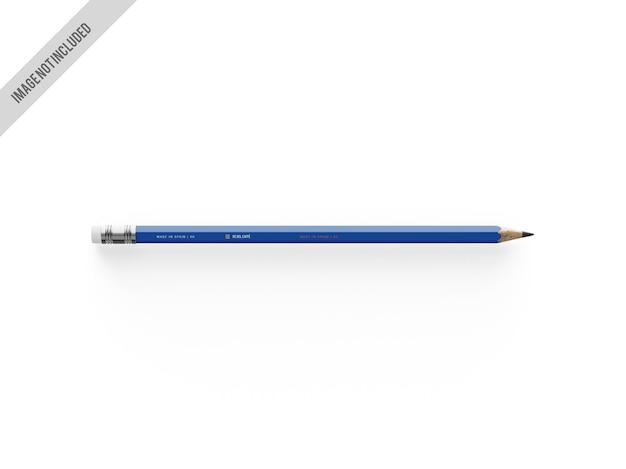 Maquette de crayon graphite