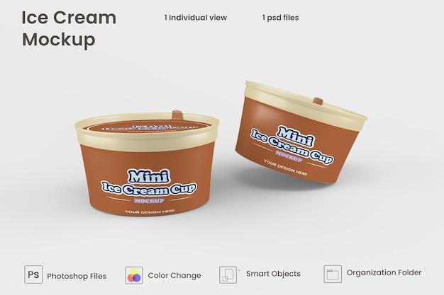 Maquette de crème glacée