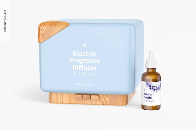 Maquette de diffuseur de parfum électrique