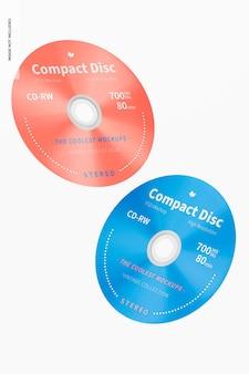 Maquette de disque compact, chute