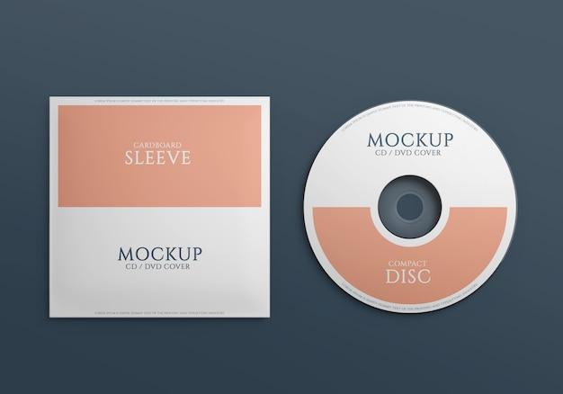 Maquette de disque compact