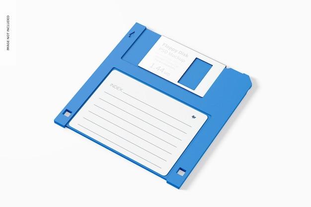 Maquette de disquette, perspective