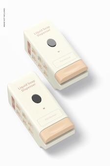 Maquette de distributeur de savon liquide