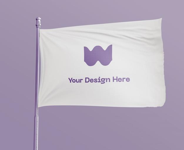 Maquette de drapeau