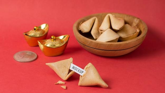 Maquette du concept du nouvel an chinois