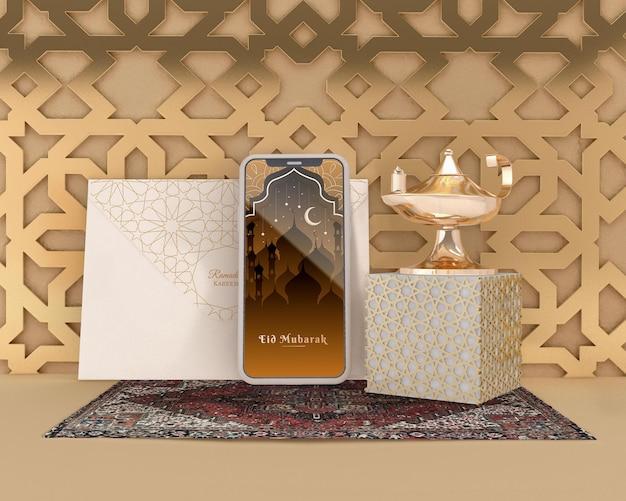 Maquette du concept du ramadan kareem