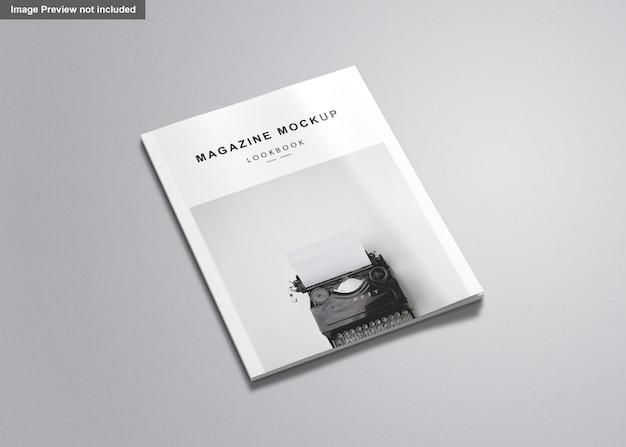 Maquette du magazine américain