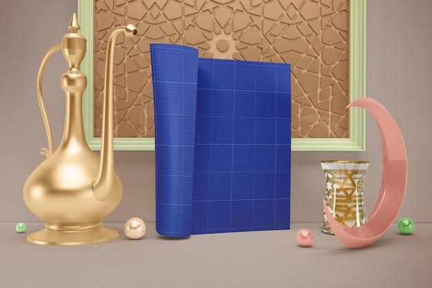 Maquette du magazine ramadan