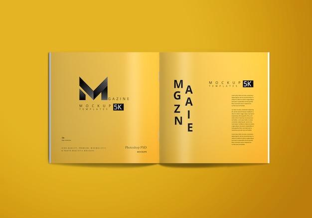 Maquette du magazine square
