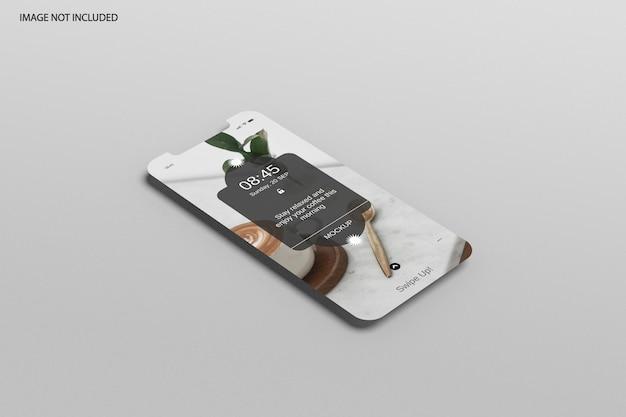 Maquette du téléphone à écran 12