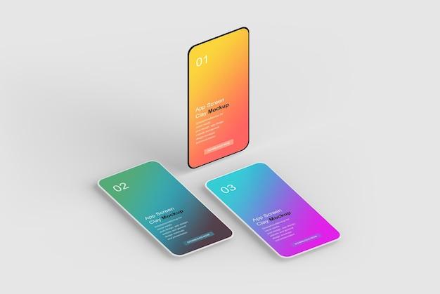 Maquette d'écran de smartphone
