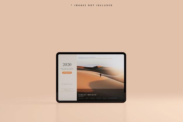 Maquette d'écran de tablette moderne