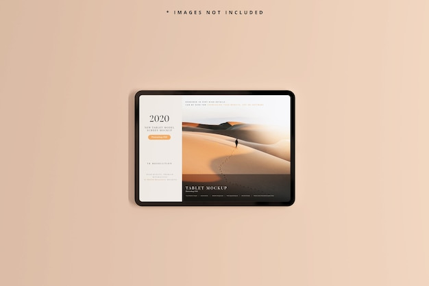Maquette D'écran De Tablette Moderne Psd gratuit