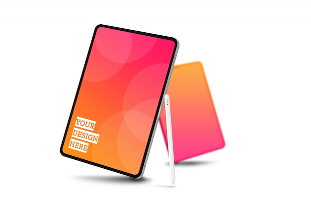 Maquette écran tablette