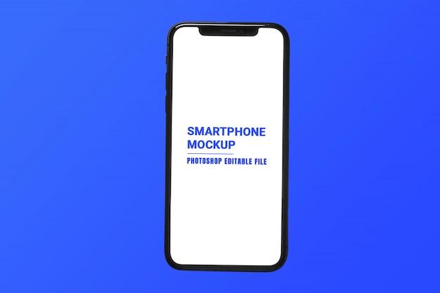 Maquette d'écran de téléphone intelligent